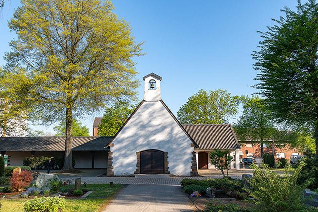 friedhöfe abschied glockenturm beerdigung weckhoven