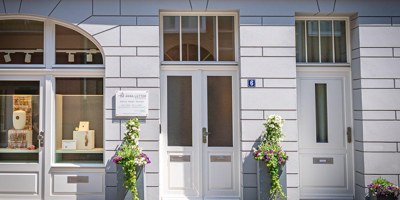 fassade mai bestattungshaus anna lutter neuss bestattungen